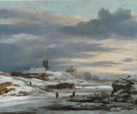 Van Ruisdael, Winterlandschap met molen