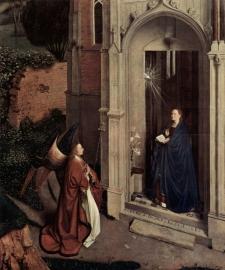 Van Eyck, Maria Boodschap