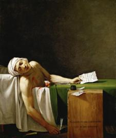 David, De moord op Marat