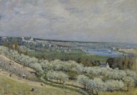 Sisley, De heuvel van Saint-Germain, lente