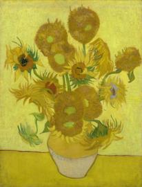 Van Gogh, Zonnebloemen in een vaas