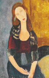 Modigliani, Portret van Jeanne Hébuterne