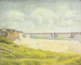 Seurat, Le Crotoy stroomafwaarts