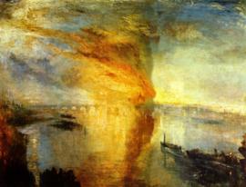 Turner, De brand in het Parlementshuis
