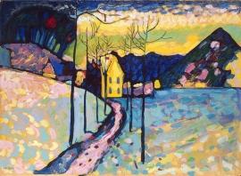 Kandinsky, Winterlandschap