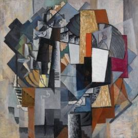 Malevich, Bureau en kamer