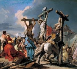 Tiepolo, De kruisiging