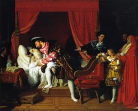 Ingres, De dood van Leonardo da Vinci