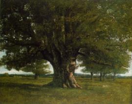Courbet, De eik van Flagey