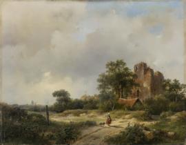 Schelfhout, Ruïne van kasteel Brederode te Santpoort