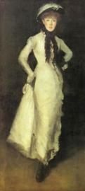 Whistler, Arrangement in wit en zwart