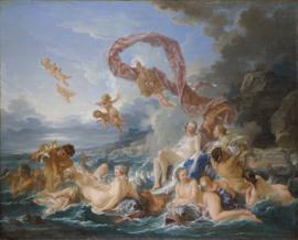 Boucher, De triomf van Venus
