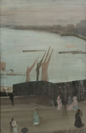 Whistler, Variaties in roze en grijs: Chelsea