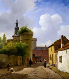Schelfhout, Straatje in Huy