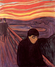 Munch, Wanhoop