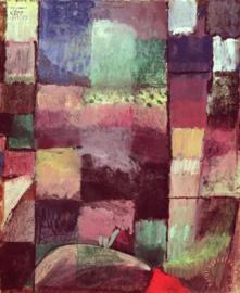 Klee, Naar een motief uit Hamamet
