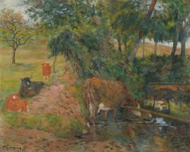 Gauguin, Rustende koeien