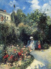 Pissarro, De tuin van Pontoise