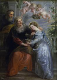 Rubens, Onderwijs van de maagd Maria