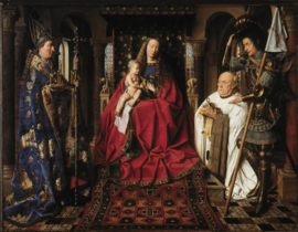 Van Eyck, Madonna en kanunnik Joris van der Paele