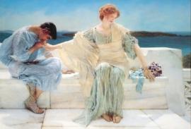"Alma-Tadema, ""Vraag me niet meer"""