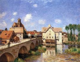 Sisley, De brug van Moret