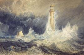 Turner, De vuurtoren van Bell Rock