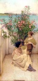 Alma-Tadema, De flirt