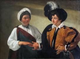 Caravaggio, De waarzegger