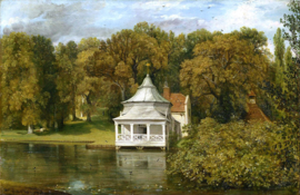 Constable, The quarters behind Alresford Hall