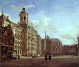 Van der Heyden, Het nieuwe stadhuis in Amsterdam