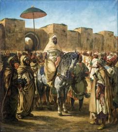 Delacroix, De sultan van Marokko