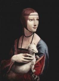 Da Vinci, Portret van Cecilia Gallerani (Dame met een hermelijn)