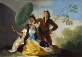 Goya, De parasol