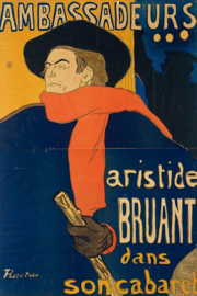 Toulouse- Lautrec, Ambassadeur: Aristide in zijn cabaret