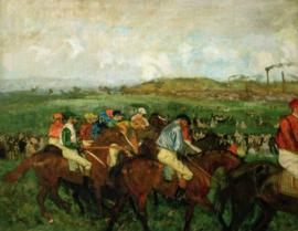 Degas, De herenrace voor de start