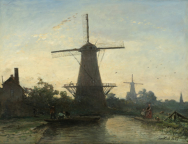 Jongkind, Molens bij Rotterdam