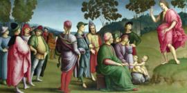 Rafaël, Johannes de Doper predikend