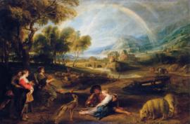 Rubens, Landschap met een regenboog
