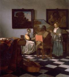 Vermeer, Het concert