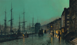 Grimshaw, Shipping on the Clyde
