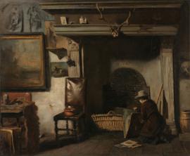 Mauve, Het atelier van de Haarlemse schilder Van Os