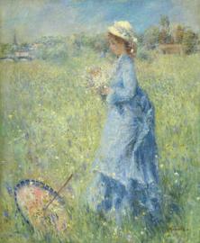 Renoir, Meisje dat bloemen plukt