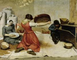 Courbet, De graanzevers