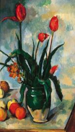 Cézanne, Stilleven met bloemen