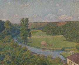 Van Rysselberghe, De vallei van de Sambre