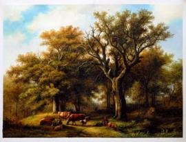 Koekkoek, Herder onder een eik