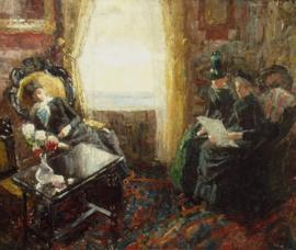 Toorop, Interieur met drie vrouwen
