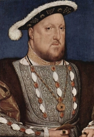 Holbein, Portret van Hendrik VIII