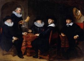 Flinck, Vier doelheren van de Kloveniersdoelen in Amsterdam